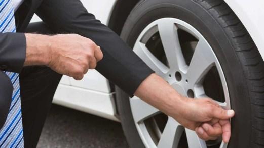 Allarme gomme: un'auto su cinque non le ha a norma