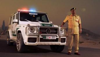 Brabus B63S, 700 cavalli per inseguire le supercar a Dubai. Foto