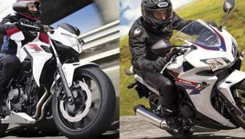 Honda CB500F e CBR500R: in prova la coppia per tutti