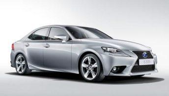 Lexus IS Hybrid: le immagini