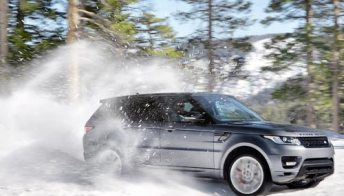 Range Rover sport: le foto