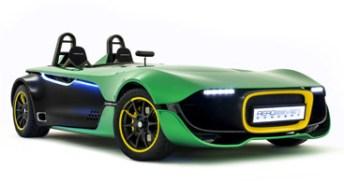 Caterham AeroSeven Concept, 240 CV e tecnologia da Formula 1. Foto