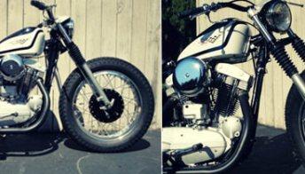 Harley-Davidson XLCH Sportster, una moto del 1965 può rinascere. Foto