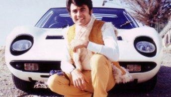 Little Tony e le sue Ferrari, Lamborghini ed Alfa Romeo. Foto