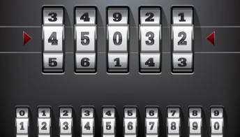L'impronta digitale, la nuova chiave del tuo lucchetto