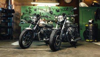 Roamer e Bobber, la nuova Moto Guzzi V9 si fa in due