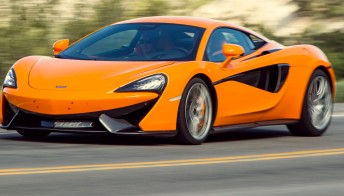 McLaren 570S Coupe, dalla pista alla strada