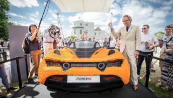 Al Festival of Speed di Goodwood la McLaren fatta di Lego