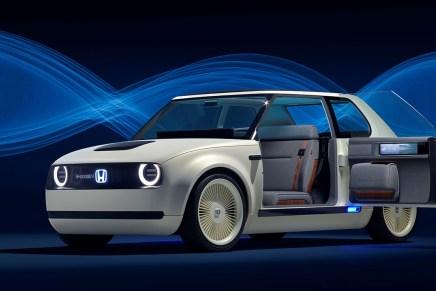 A Francoforte arriva Urban EV, la Concept car interamente elettrica di Honda