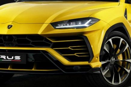 Lamborghini Urus, in uscita a giugno 2018
