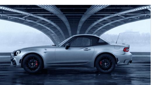 Abarth 124 GT, la serie speciale in fibra di carbonio