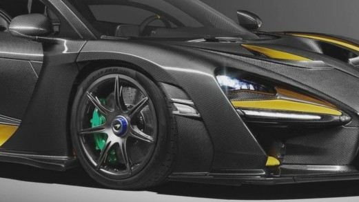 McLaren Senna Carbon Theme, dalla pista alla strada