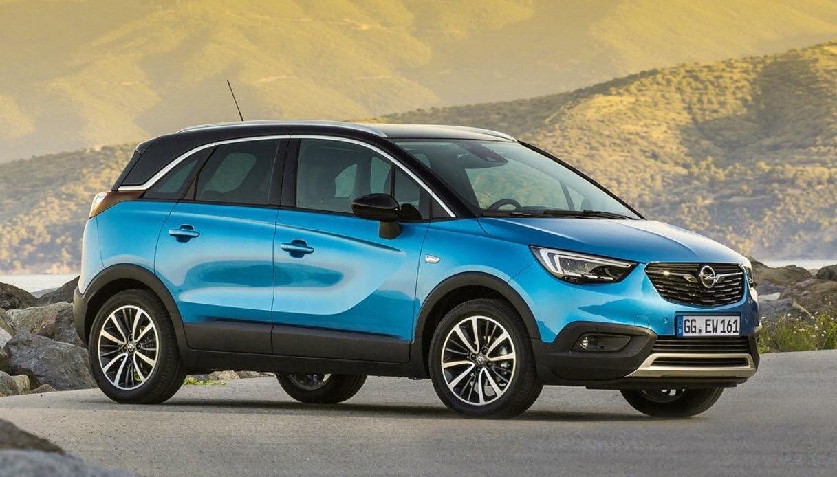 Opel Crossland X rompe il muro dei 100.000 ordini in Europa ...