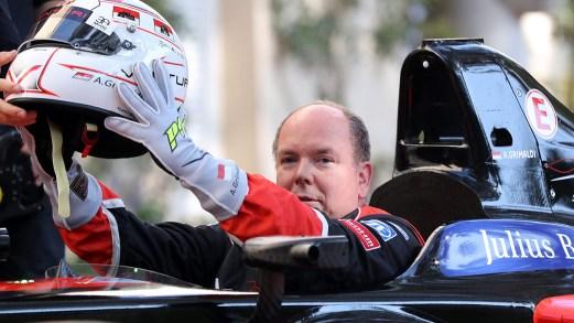 Il Principe Alberto di Monaco è un grande fan della Formula E