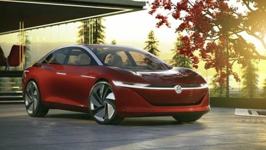 Volkswagen I.D. Vizzion, l'auto senza volante che si guida da sola