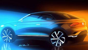 In arrivo nel 2020 Volkswagen T-Roc Cabriolet, il nuovo Suv decapottabile