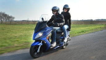 Kymco G-Dink 300i, torna il bestseller con un nuovo look