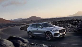 Jaguar F Pace SVR, il super SUV