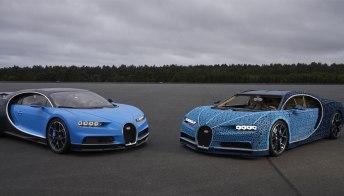 La Bugatti più cool? Va a 30 km orari ed è fatta… di lego!