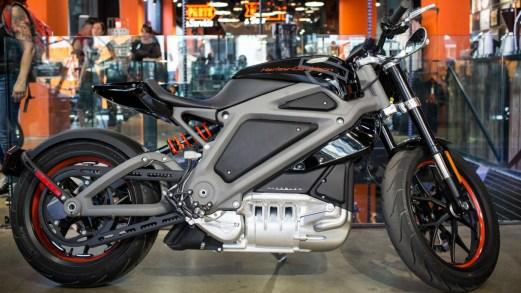 Ecco la Harley Davidson LiveWire, la prima con motore elettrico
