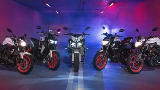 Il restyling della gamma Yamaha XSR e MT all'EICMA 2018