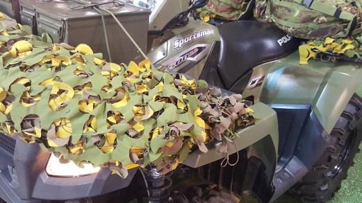 Eicma 2018, il quad dei reparti speciali dell'Esercito Italiano