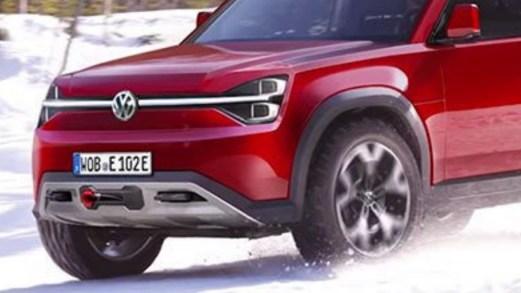 Volkswagen rilancia sull'elettrico creando il nuovo suv fuoristrada T-Rug