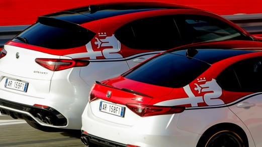 Alfa Romeo, le serie speciali di Giulia e Stelvio con livrea da F1