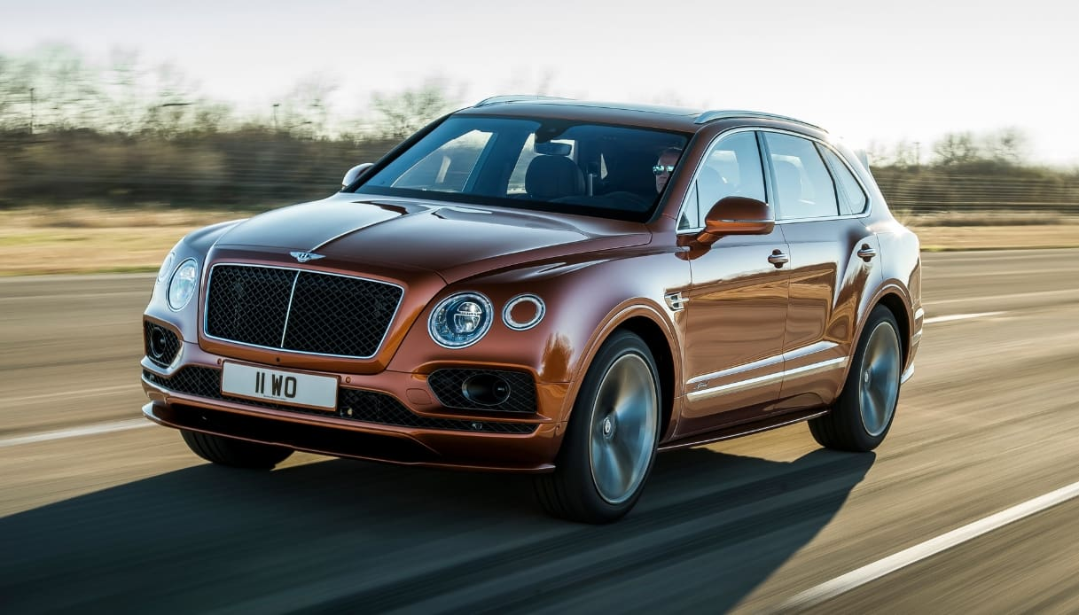 Bentayga Speed