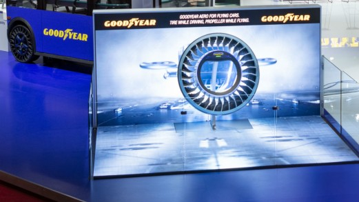Salone di Ginevra, ecco gli pneumatici del futuro