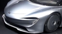Salone di Ginevra, McLaren Speedtail arriva a tutta velocità