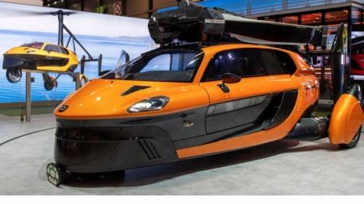 La prima auto volante del mondo atterra al Salone di Ginevra