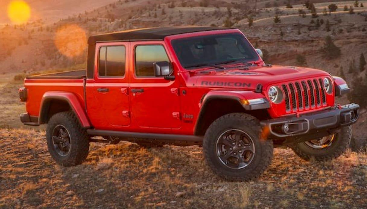 Jeep Gladiator Il Pick Up Americano Sbarca Finalmente Sul Mercato