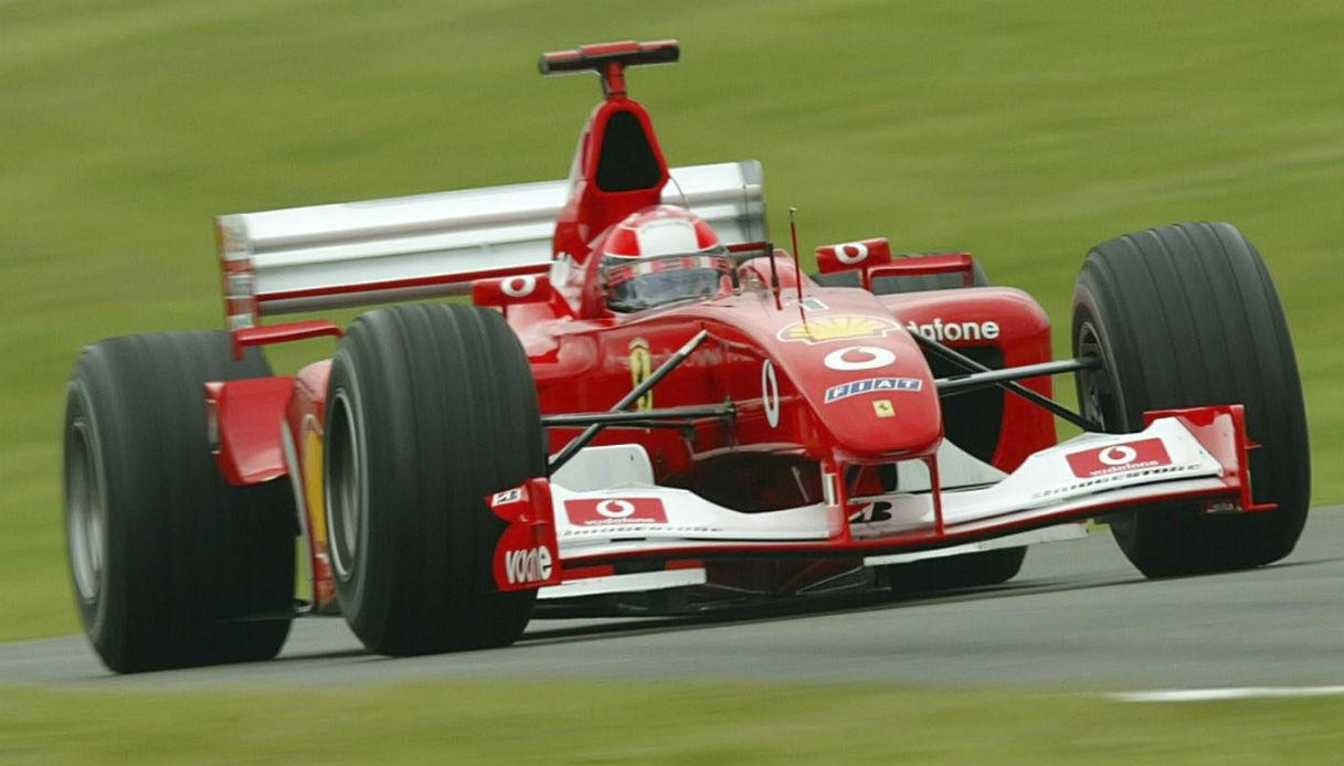 Corsa da Donna Michael Schumacher Formula 1 Auto F1 New