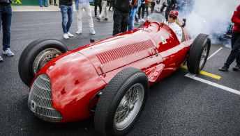 Gp Monza, Raikkonen celebra la prima vittoria di Alfa Romeo in F1