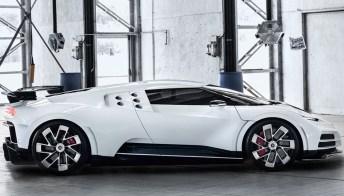 Cristiano Ronaldo si compra una nuova hypercar: la Bugatti Centodieci
