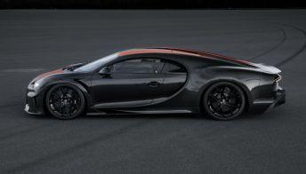 Bugatti Chiron: velocità pazzesca per l'auto più veloce al mondo