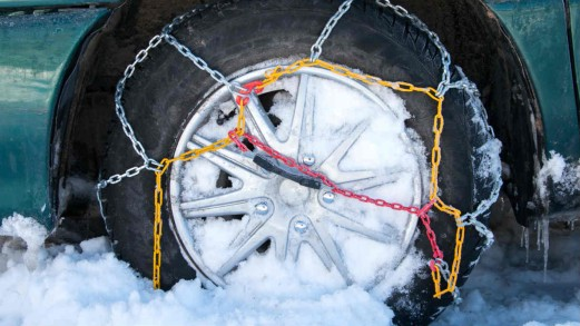 """Catene da neve: devono avere il simbolo """"UNI 11313"""" o """"O-norm V-5117"""""""