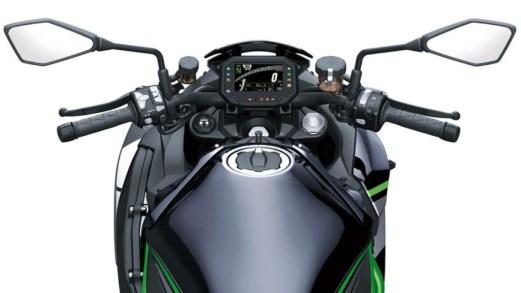 Kawasaki, la nuova super naked mette il turbo