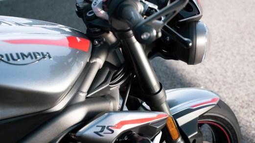 Triumph Street Triple RS,  la tre cilindri inglese si evolve