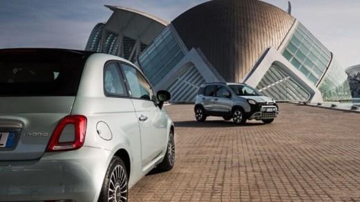 Svelate le nuove Fiat 500 e Panda ibride