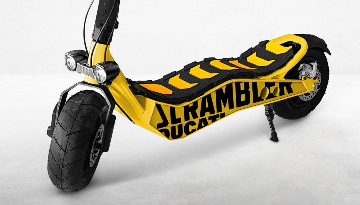 Scrambler_Ducati_CROSS-E_monopattino