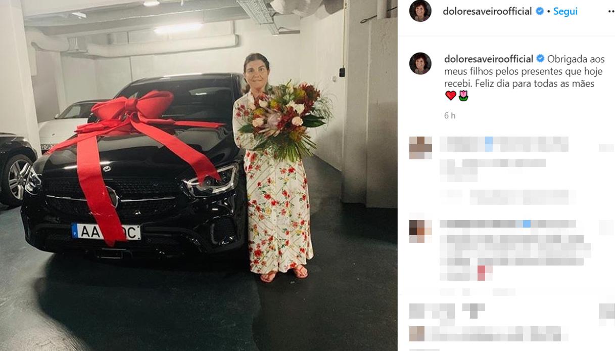 Auto regalata da CR7 alla mamma