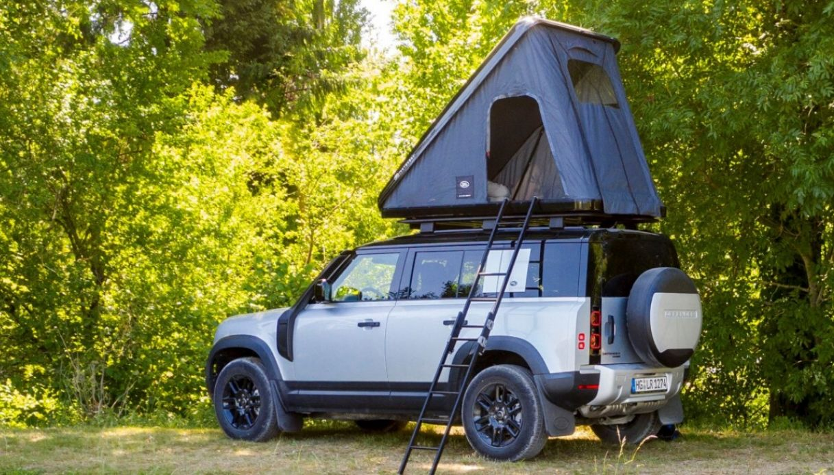 Tenda Land Rover