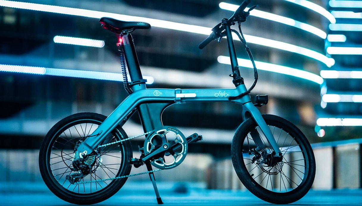 e-bike FIIDO pieghevole