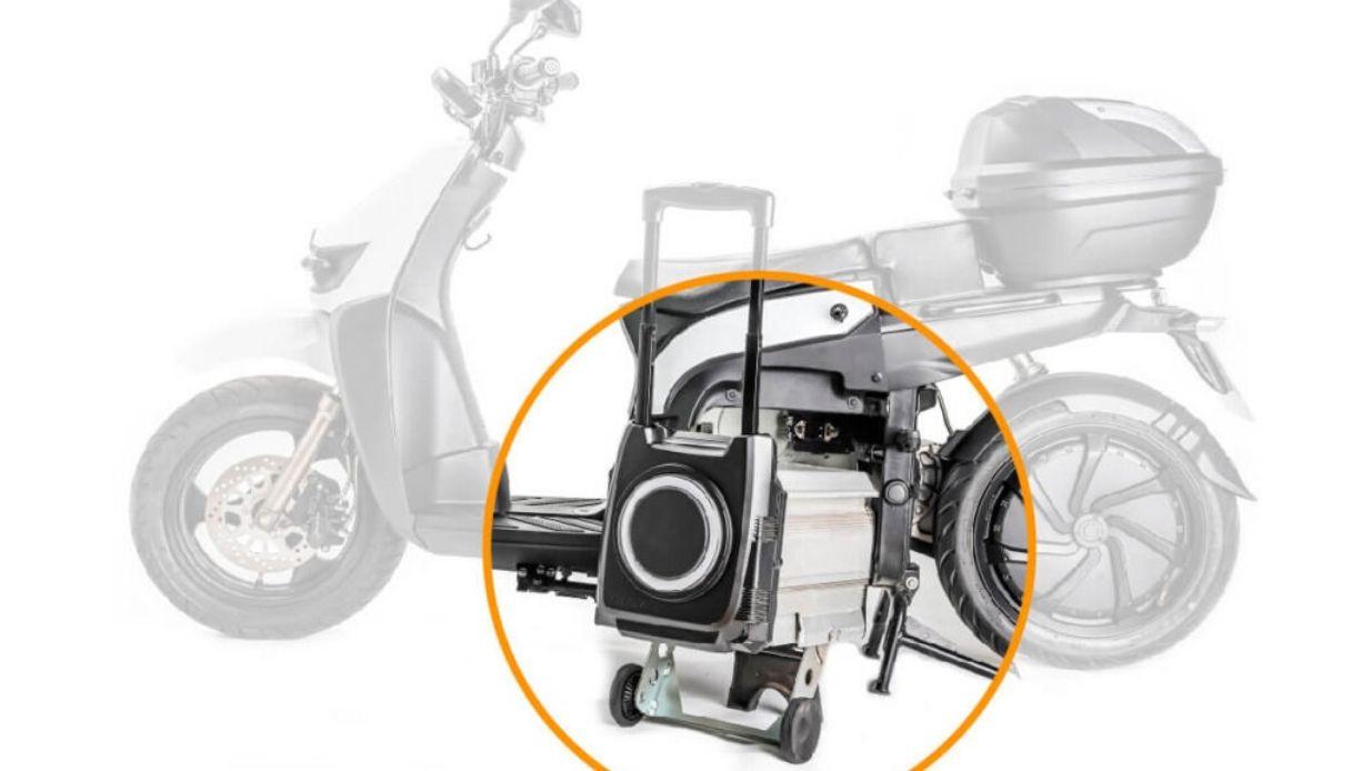 scooter elettrico batteria