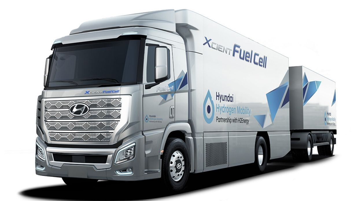 hyundai camion idrogeno