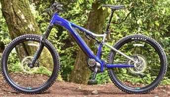 La nuova e-bike Yamaha col telaio Dual-Twin