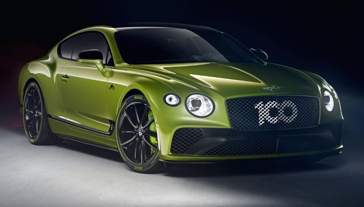 Nuova Bentley Continental GT Pikes Peak by Mulliner