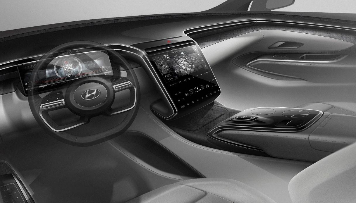 Hyundai Tucson_interni